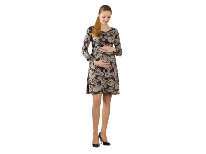 Těhotenské šaty Rialto Loos 8144 (Dámská velikost 46)