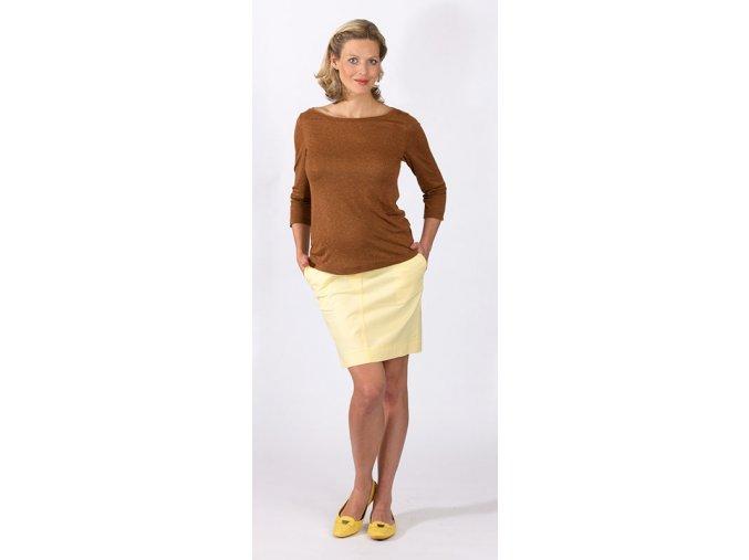 Těhotenské tričko Rialto Clere 0453 (Dámská velikost 38)