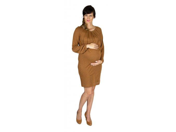 Těhotenské šaty Rialto Laringe 0453 (Dámská velikost 36)