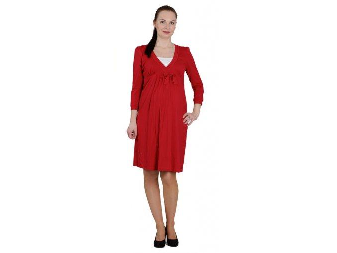 Celoroční těhotenské a kojící šaty Rialto Lovdaun s dlouhým rukávem