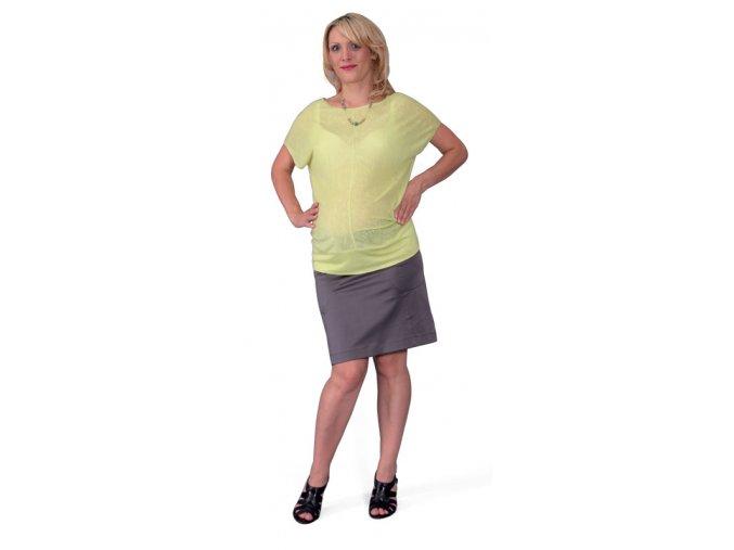 Těhotenské tričko Rialto Court sv. zelené 0327 (Dámská velikost 36)