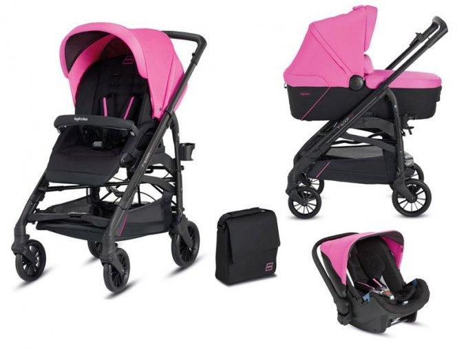 Kočárek Inglesina Trilogy System Colors 3v1 2016 - peggy pink