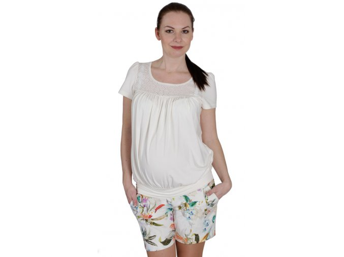 Těhotenské tričko Rialto Collet 0440 (Dámská velikost 36)