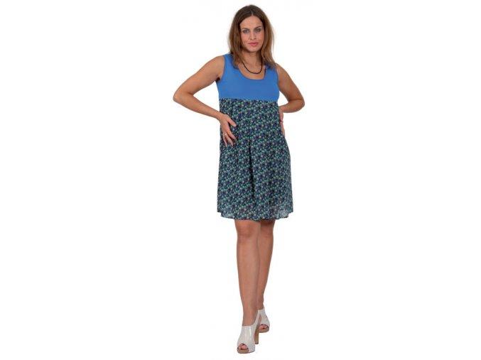 Těhotenské šaty Rialto Lugny 0213 (Dámská velikost 38)