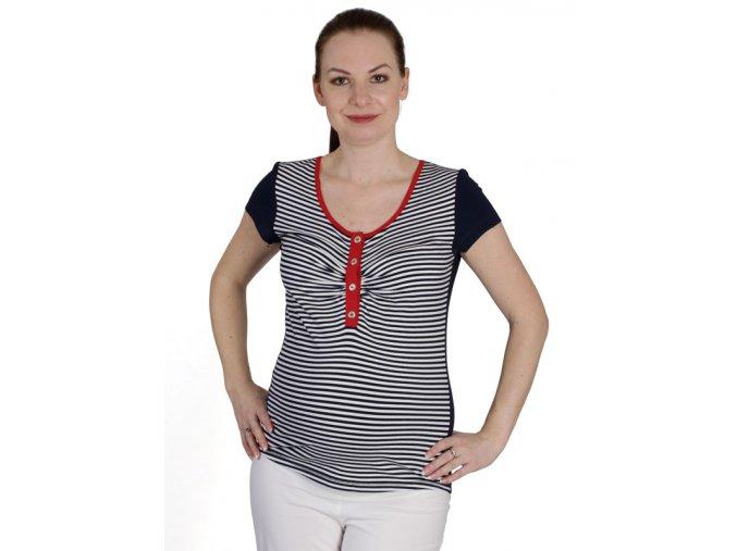 Těhotenské a kojící tričko Rialto Dison 0467 (Dámská velikost 36)