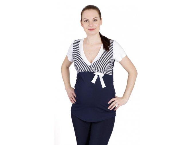 Těhotenské a kojící tričko Rialto Denor 0467 (Dámská velikost 36)