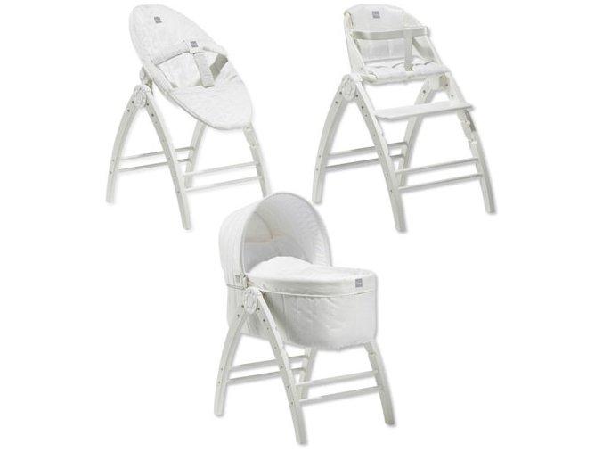 Angel 3v1 postýlka+lehátko+židlička, dřEvo