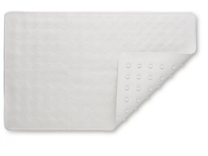 protiskluzová podložka do vany bílá4075 00 p