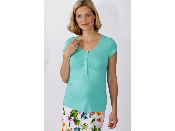 Těhotenské a kojící tričko Rialto Dison 0298 (Dámská velikost 34)
