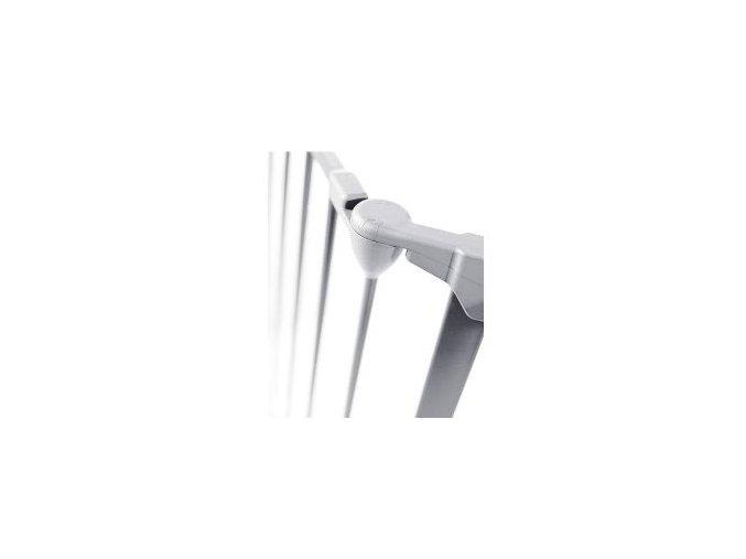 Bílé prodloužení prostorové zábrany o 33cm