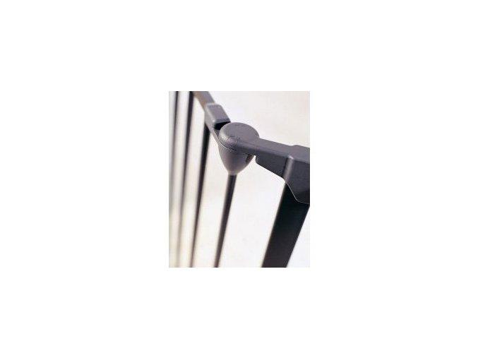 Černý prodlužovací modul 72 cm pro prostorové zábrany Babydan