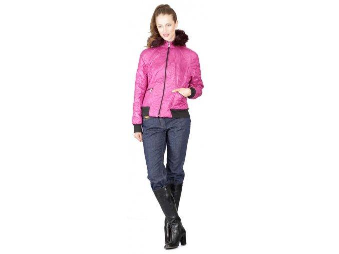 Dámská bunda Rialto Huke Růžová 0366