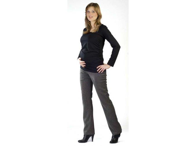 Těhotenské tričko Rialto Roupy - černé 0156 (Dámská velikost 36)
