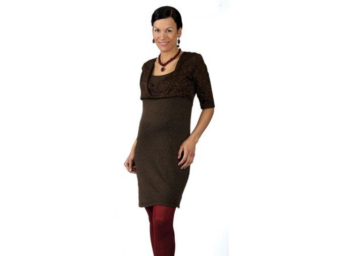 Společenské až slavnostní těhotenské šaty Rialto