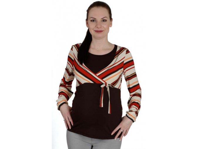 Těhotenské a kojicí tričko Rialto Dames 0056 (Dámská velikost 36)