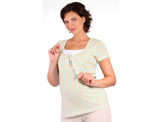 Těhotenské a kojicí tričko Rialto Duvy 0266 (Dámská velikost 36)