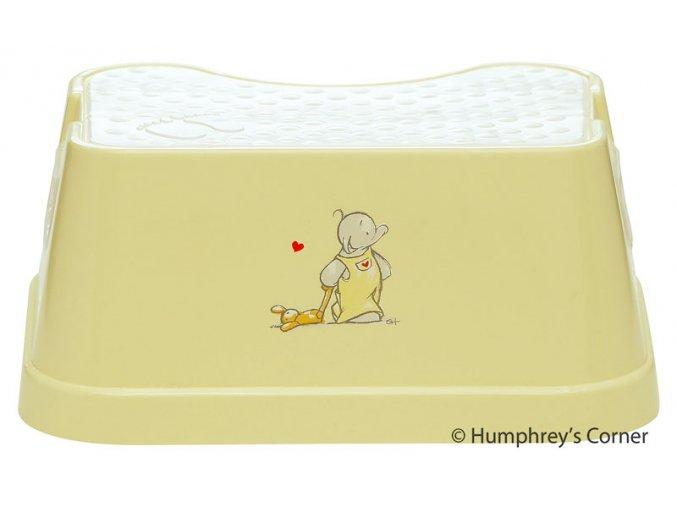 Dětské Protiskluzové stupátko Humphrey žluté  Rozbaleno z výstavy