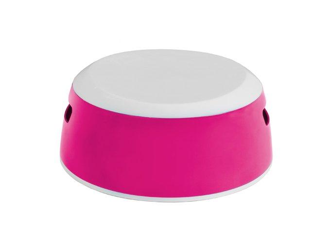 Dětské protiskluzové stupátko LUMA magenta pink