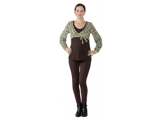 Těhotenské a kojicí tričko Rialto Dames 0258 (Dámská velikost 36)