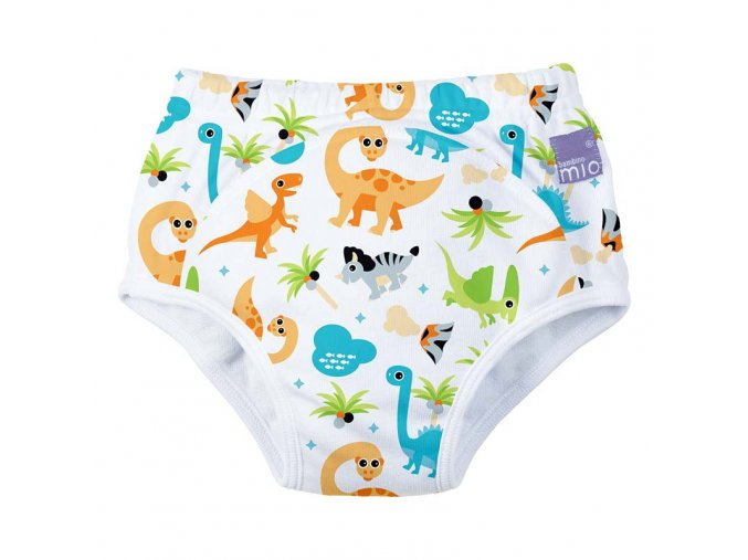 Učící plenkové kalhoty Bambino Mio 18-24 měsíců Dino
