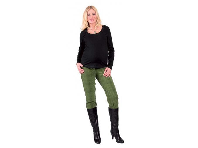 Těhotenské tričko Rialto Ruten černé 0174 (Dámská velikost 36)