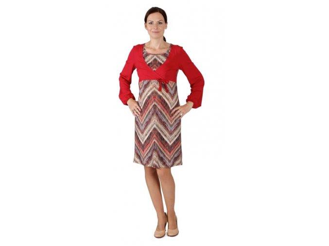 Základem šatníku těhotné a později kojící maminky jsou pohodlné šaty.