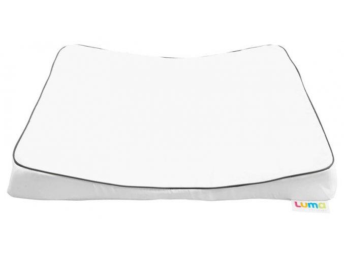 Velká přebalovací podložka LUMA XL snow white