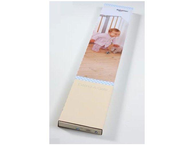Prodloužení zábrany Babydan Premier o 7 cm bílé