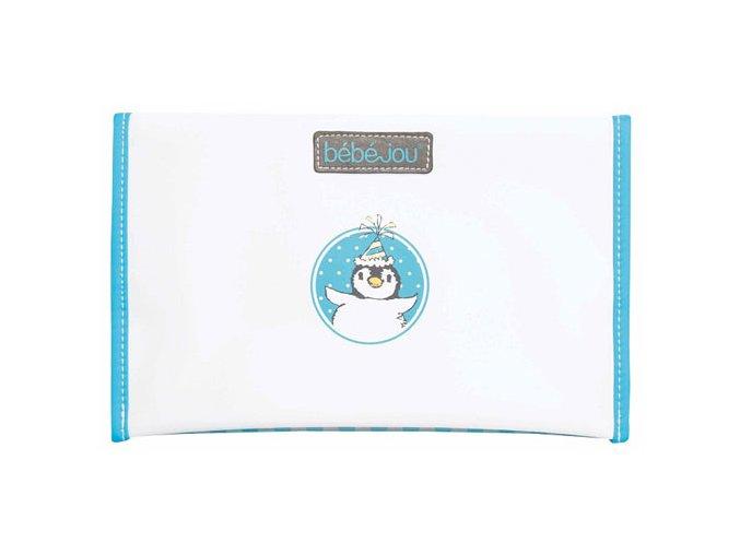 Pouzdro na plenku Bébé-Jou Pinguin tyrkysový