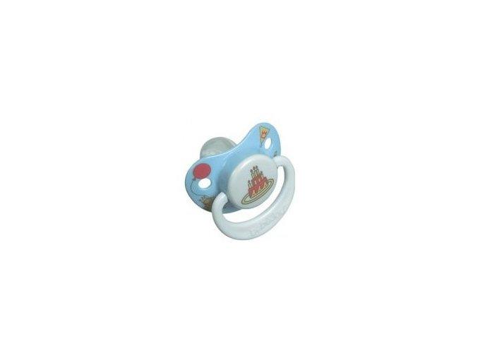 Dudlík-silikon 12+ Bébé-Jou sv. modrý