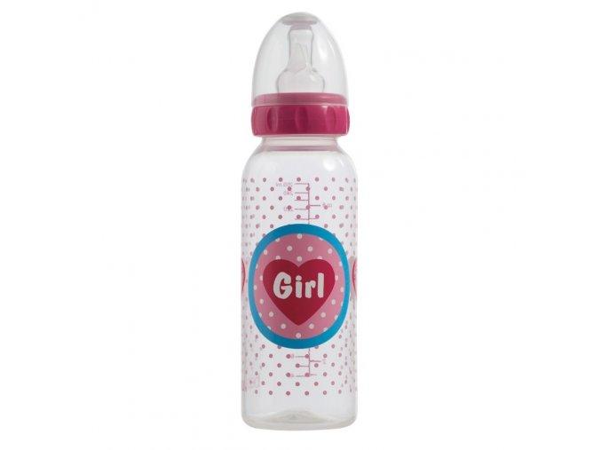 Lahvička Bébé-Jou Girl 250 ml
