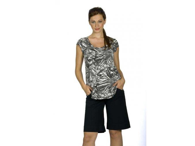 Těhotenské tričko Rialto Remich bíločerná 7938 (Dámská velikost 36)