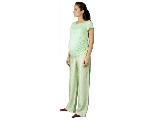 Těhotenské tričko Rialto Nonza zelená 0066 (Dámská velikost 36)