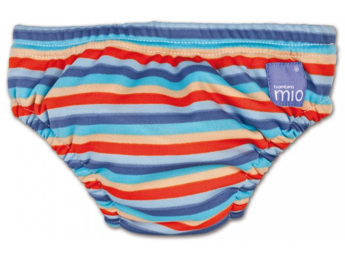 Kojenecké plavky Swim Nappy (orange stripe)
