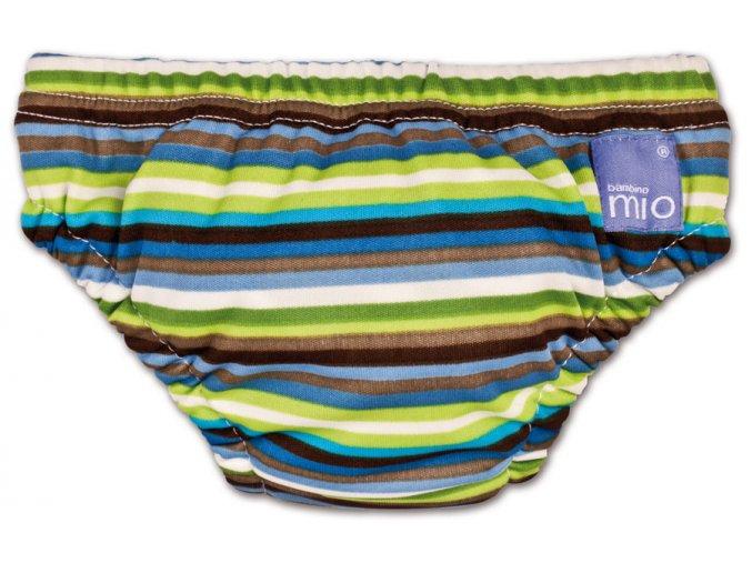Kojenecké plavky Swim Nappy (brown stripe)