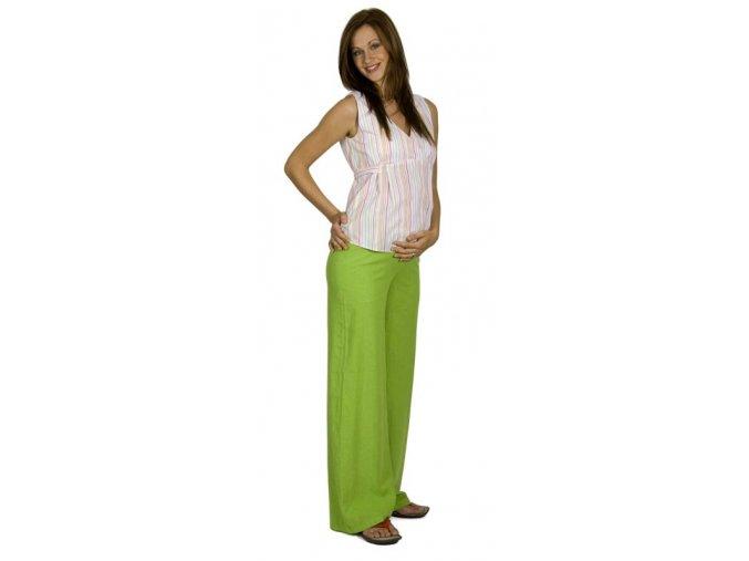 Těhotenská halenka Rialto Bavigne barevné proužky 5952