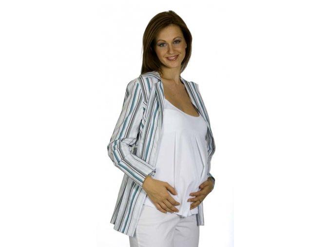 Těhotenské tílko Rialto Capellen bílá 0098 (Dámská velikost 38)