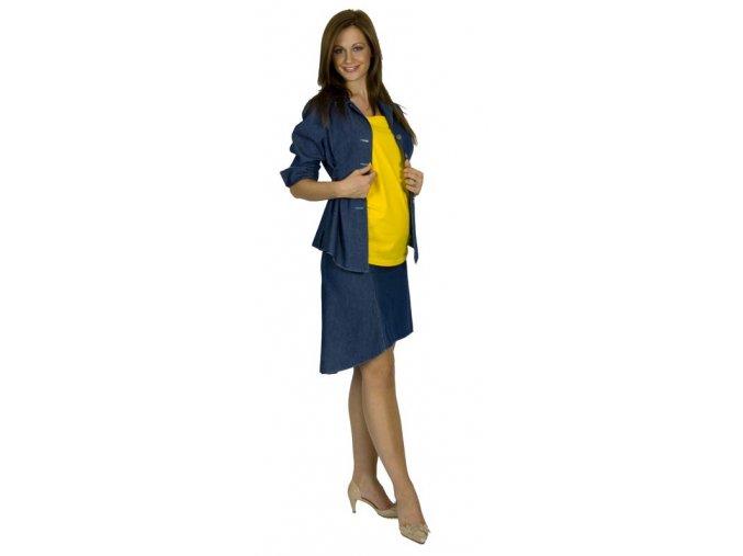 Těhotenská riflová sukně Rialto Winseler 01043