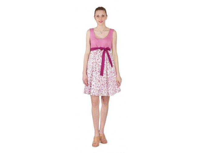 Těhotenské šaty Rialto Lacroix UP 0304 (Dámská velikost 36)