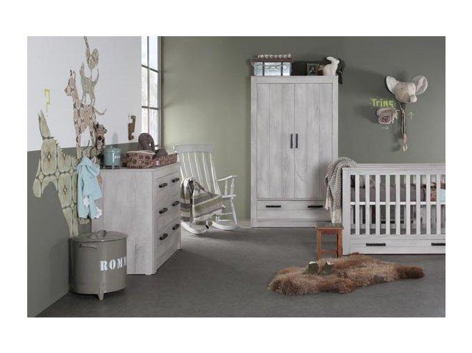 Dětský pokojíček Kidsmill Fjord sada
