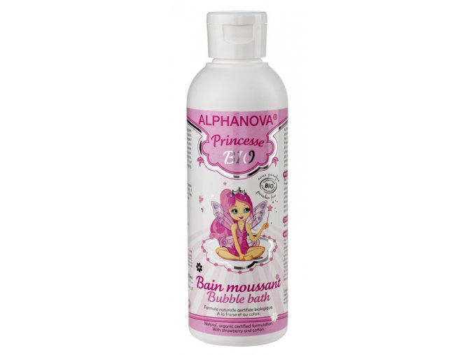Bio pěna do koupele Princesse 200 ml