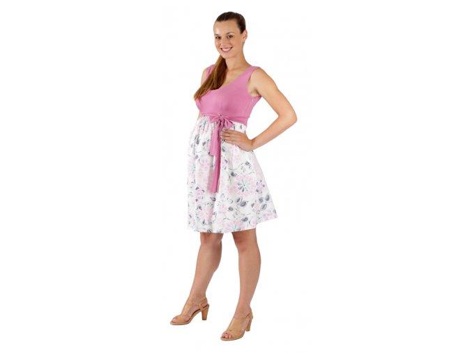 Těhotenské šaty Rialto Lacroix UP 0036 (Dámská velikost 36)