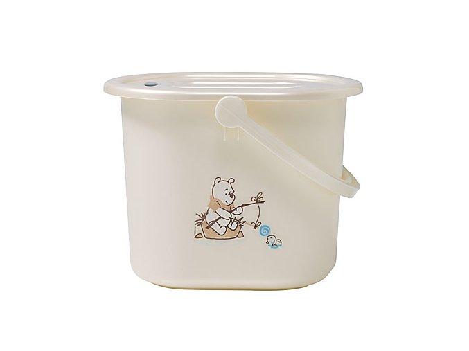 Kyblík na pleny s víkem Bébé-Jou Disney Pooh