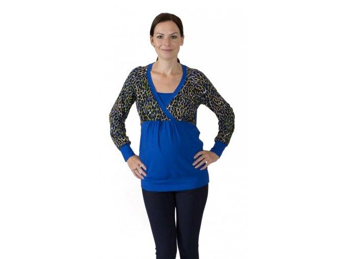 Těhotenské a kojicí tričko Rialto DAREN 0383 (Dámská velikost 38)