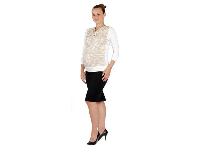 Těhotenská sukně Rialto Bever černá 0162