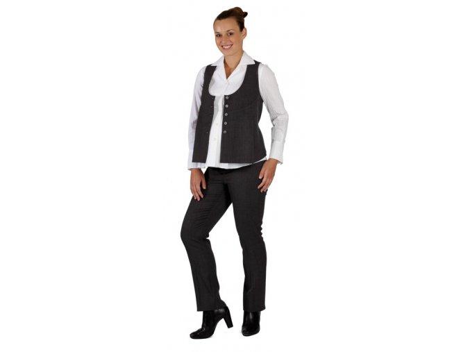 Těhotenské kalhoty Rialto  Sissone šedé 0087 (Dámská velikost 36)