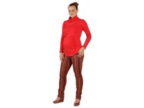 Těhotenské kalhoty Rialto Steiny barevné proužky 3700 (Dámská velikost 36)