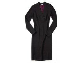 Dámské šaty Rialto FOG černý vzor 0283