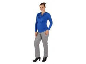 Těhotenské manšestrové kalhoty Rialto Steiny šedé 19201 (Dámská velikost 36)