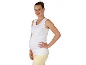 Těhotenské tílko Rialto Castirla bílé 0098 (Dámská velikost 38)